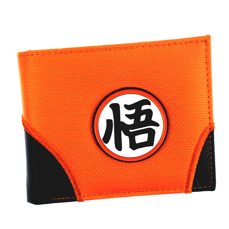 FVIP New Arrival Dragon Ball Z Wallets Men's Purse 3D Sequined Decoration With Card Holder Coin Pocket