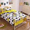 100 Cotton Cartoon Bedding Set Simple Style Single Bed For Child 1 2m Bed Lovely Pattern