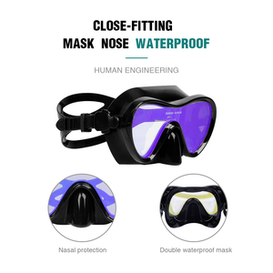 Image 4 - Professional Scuba Diving Masks Silicone Masks Snorkel Anti fog Diving Mask Snorkel Full Dry Tube Underwater Swimming Equipment