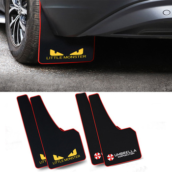 Car Styling Sport Mud Flap Mudguards Fender Cover For Skoda Octavia A5 A7 Kodiaq Superb 2 Rapid Fabia Porsche 911 Cayenne Macan