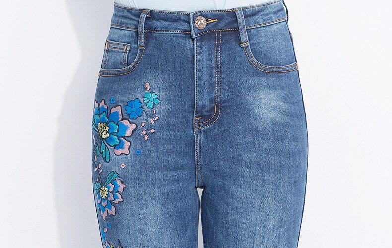 KSTUN FERZIGE Women's Jeans Winter Flared Pants Warm Fleece Heat Insulated Denim Stretch High Waist Business Casual Trousers Femme Big 20