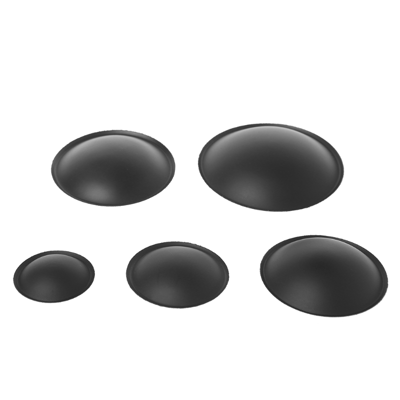 New  2 Pcs 35mm~75mm Audio Speaker Woofer Loudspeaker Dome Paper Dust Cap Cone Cover