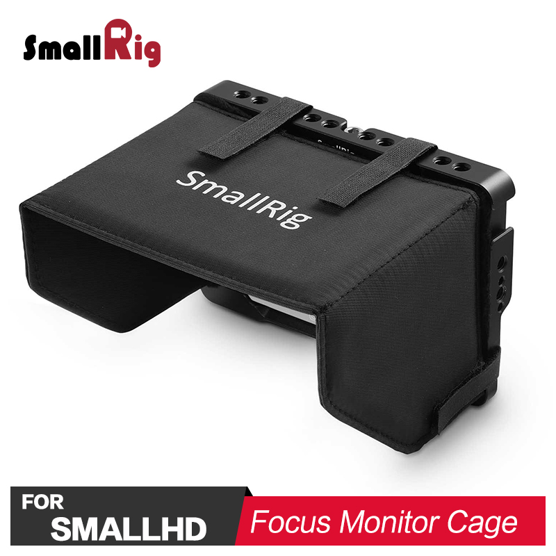 SmallRig Monitor Cage for SmallHD Focus With Sunhood 2095