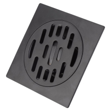 цена на Stainless Steel Floor Drain Heavy Duty Floor Drain Cover Home Bathroom Shower Waste Drainer Thickened Waste Floor Drain Black
