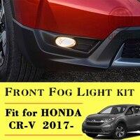 Halogen Fog Light Lamp Kit For 2017 2018 New Honda CRV CR V