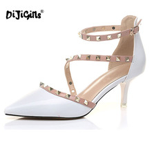 DIJIGIRLS High heels Ladies Sexy Pointed Toe shoes
