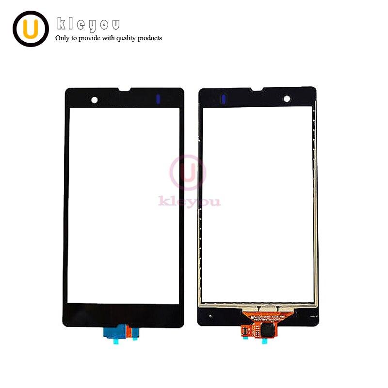 Black For Sony Xperia Z L36H L36i C6606 C6603 C6602 C660X C6601 Mobile Phone Digitizer Replacement Repair Parts