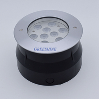 High Quality 304 316 Stainless Steel IP68 9W Pool Light RGB Swimming LED Underwater Lamp Color