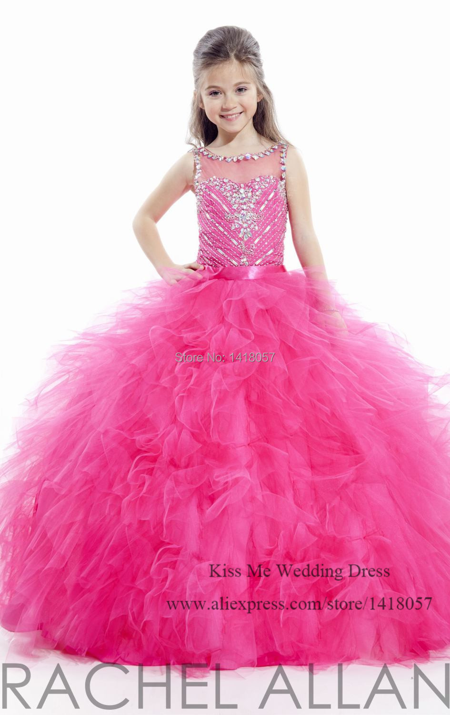 Online buy wholesale fuschia bridesmaid dresses from china fuschia lovely sky blue fuschia ball gown junior girls bridesmaid dresses 2015 flower girl dress for weddings ombrellifo Choice Image