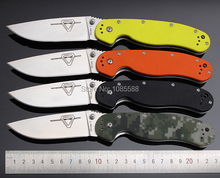 high-end Ontario RAT Folding Knife AUS-8 Blade Steel With G10 Handle Utility Tactical Camping Pocket Survival Knives