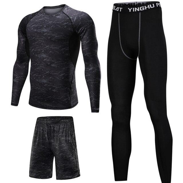 3 Pcs Men Sports Suit Set 4