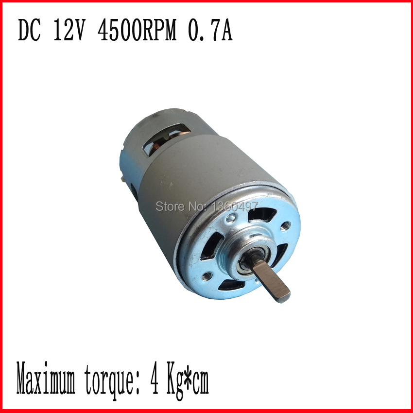 dc 12V 4500RPM High Torque Gear Box Electric Motor dc 12v-36v 4500rpm-11000rpm brushless dc 24v motor fan electric boat motor 13000rpm 73w 24v 3 33a 42mm 55mm 3 phase hall brushless dc micro motor high speed dc motor for fan air pump or gear box
