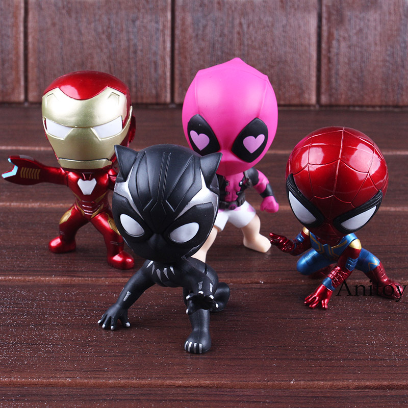 Deadpool And Spider Man 1: Aliexpress.com : Buy Marvel Action Figures Iron Man