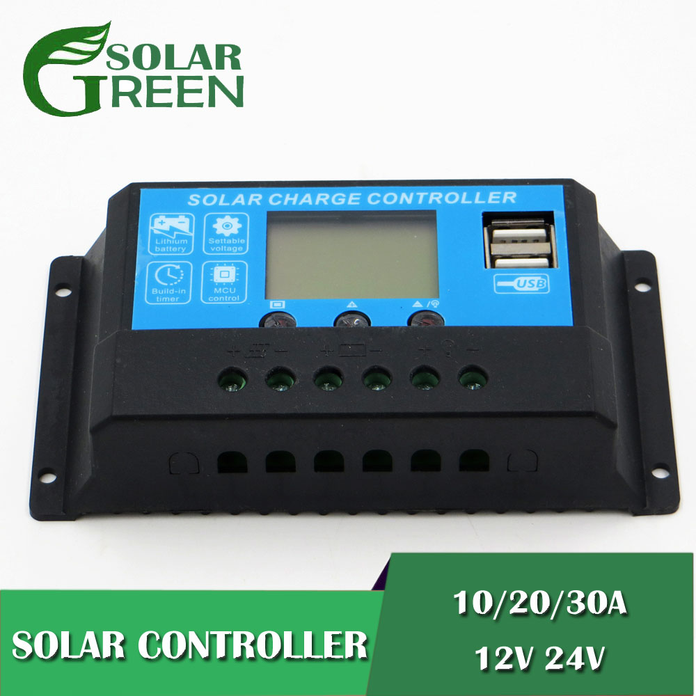 12V/24V LCD display solar charger AGM GEL 10/20/30a 3.7V 3.2V 3S 4S Iron li-ion lithium battery charge controller USB12V/24V LCD display solar charger AGM GEL 10/20/30a 3.7V 3.2V 3S 4S Iron li-ion lithium battery charge controller USB