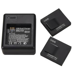 Bateria Replacement-Battery Usb-Battery-Charger Yi-Action-Camera Rechargeable Xiaomi