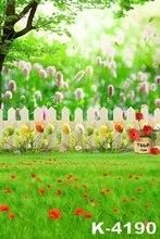 Outdoor Green Lawn Romantic Wedding/Children Photo Studio Background High Quality Fabric Floor Muslin Background 1.5x2m Backdrop