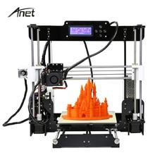 Обновлен Анет A8 3D принтер трехмерный широкоформатной печати Размеры точность RepRap Prusa i3 3D комплект принтера для DIY игрушки строительный