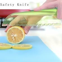 Kitchen Clever Vegetables Multi-function Knife Lettuce Cutter Chopper Plastic Blade Salad Lemon Fruits Slicer Japanese XJH052