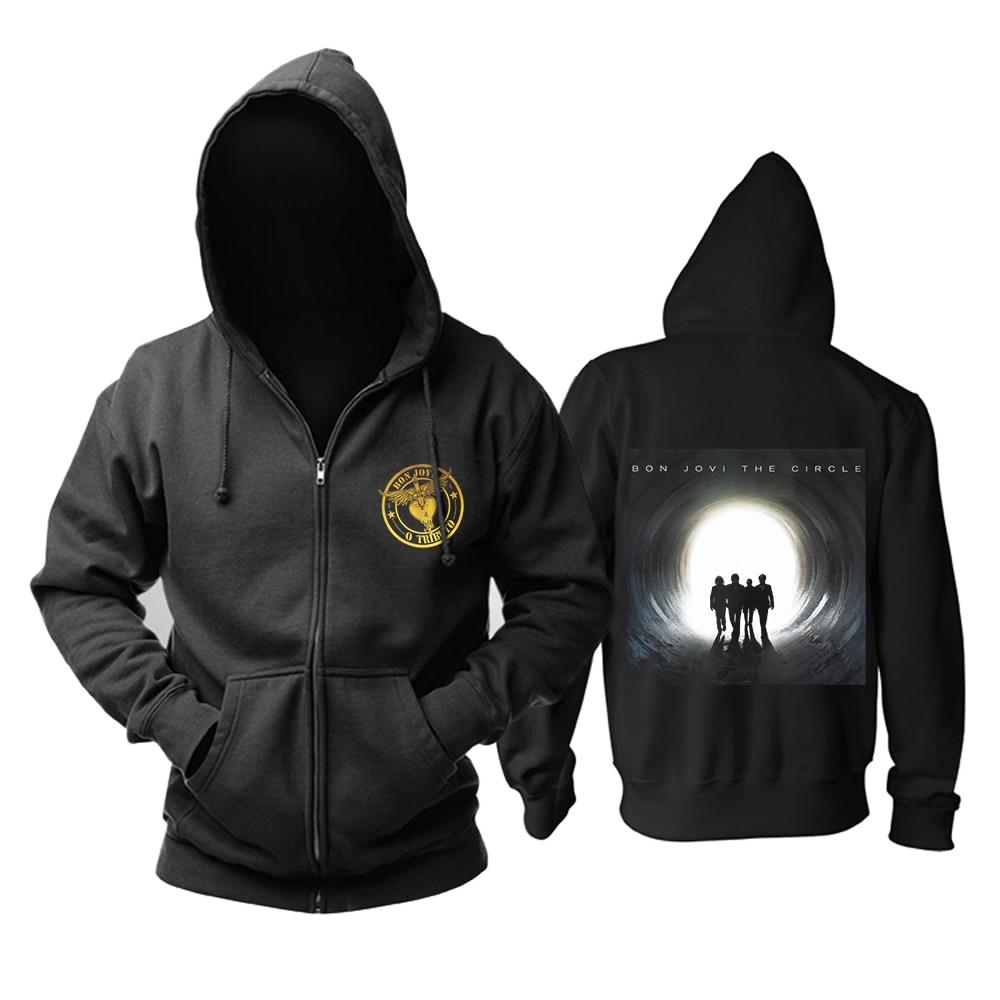 Bloodhoof BON JOVI Lost Highway Tour De 2007-Prudential Center Nouveau sweatshirt à capuche Taille Asiatique