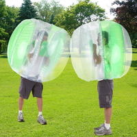 1.2M Inflatable Bumper Ball Bubble Soccer Ball Kids Adults Indoor Outdoor Play Fun Games Toys Soccer Zorb Ball