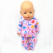Free shipping dolls clothes for 43 cm zapf babies children the best birthday present M66 only