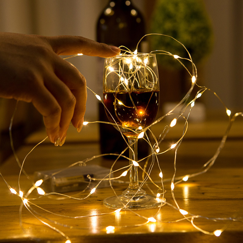 Fairy Lights Wedding Reception Ideas: 2M Length Christmas Lights String LED Copper Wire Fairy
