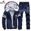 Hot Selling Winter Autumn Men`s Fashion fleece thicken cotton Hoodies Sweatshirts Casual Male Hooded suit men hoodies tracksuits