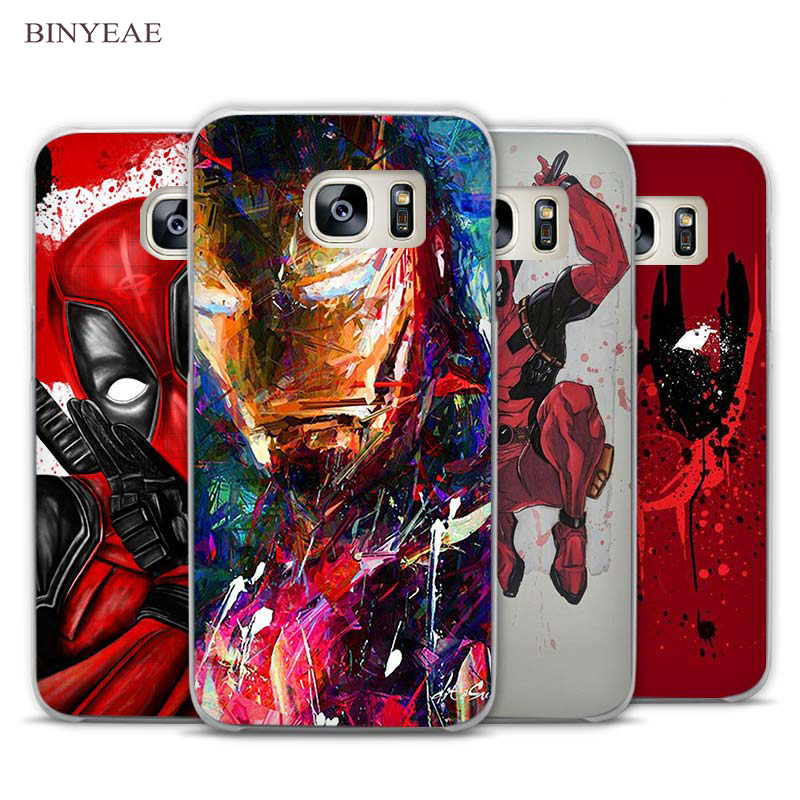 Cooling Case For Samsung Galaxy S3 : Binyeae cool hero superman iron man deadpool transparent
