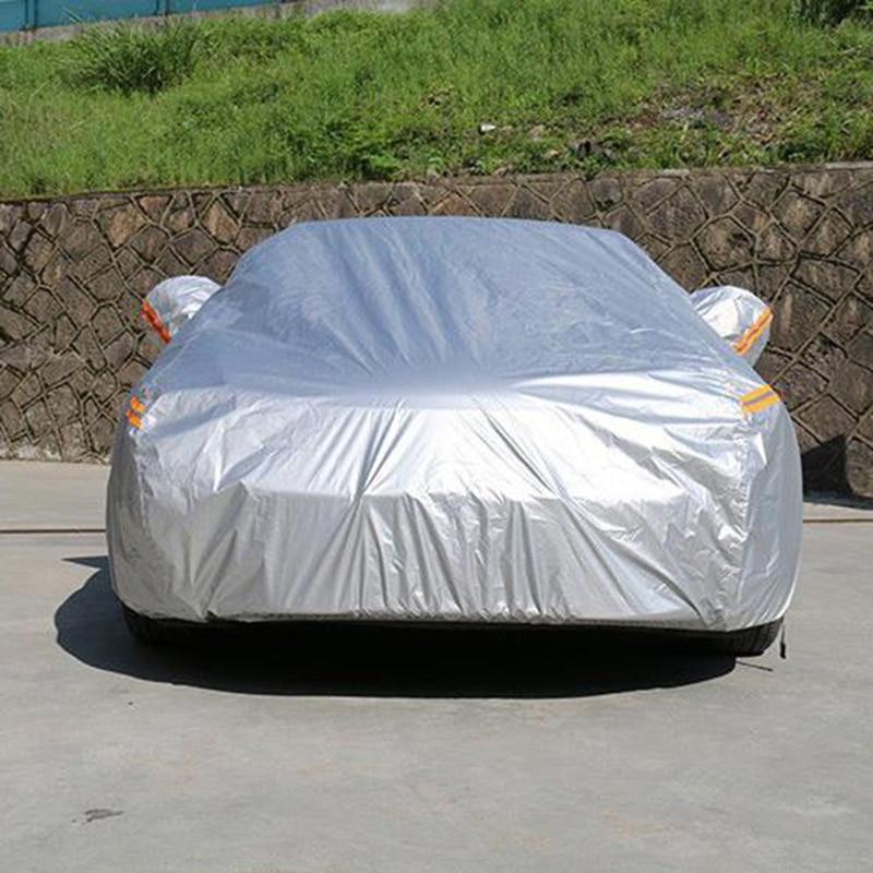 Kayme imperméable à l'eau pleine bâches de voiture soleil poussière protection contre la pluie bâche de voiture auto suv protection pour Mercedes benz w203 w211 w204 cla 210 - 2