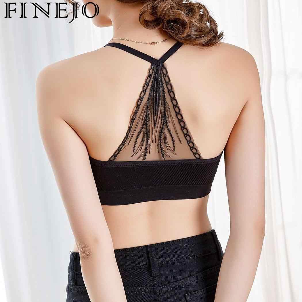 592c91bdb64cc ... FINEJO Women sexy seamless bra with pads big size push up bras plus  size 4XL underwear ...