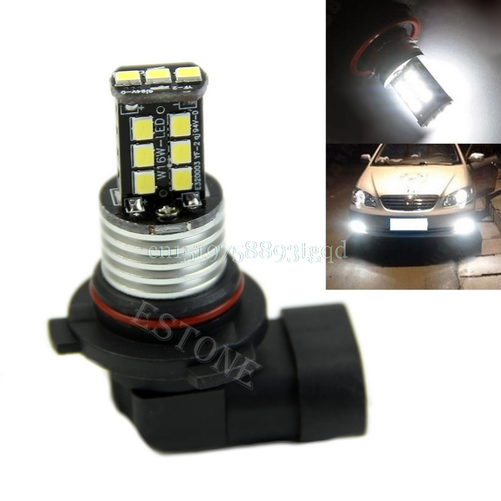Hot 1X Xenon White 9006 HB4 High Power Fog Driving DRL Head Lights LED Bulbs 12V