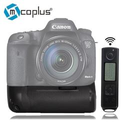 Mcoplus Venidice VD-7DR II Vertical Battery Grip for Canon EOS 7D Mark II as BG-E16 with 2.4G Control as MK-7DR II