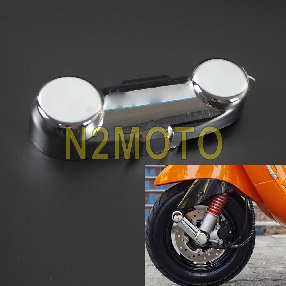Tax disc holder chrome suitable for LML Star 125 scooter