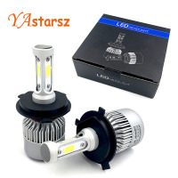 YAstarsz H4 H7 H11 H1 H13 H3 9004 9005 9007 9012 COB LED Car Headlight Bulb
