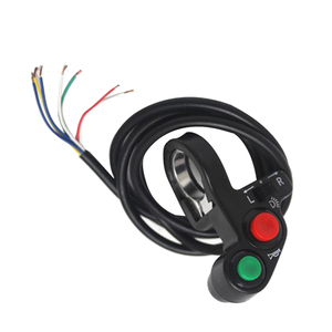 Image 2 - 1 Pcs 7/8 Inch Motorcycle Scooter Dirt ATV Quad Switch Horn Turn Signals On/Off Horn Light Handlebar Motorcycle Scooter Switch