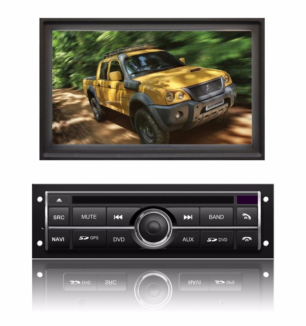 S200 IPS touch screen android 8.0 car dvd player for MITSUBISHI L200 4G/3G device mirror link OBD2 DVR gps car stereo radio
