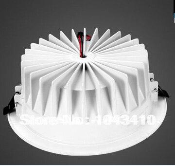 Toika 4 дюймов лампы 9 Вт светодиодные светильники Гостиная Спальня Кухня встраиваемые светодиодный светильник Бесплатная доставка