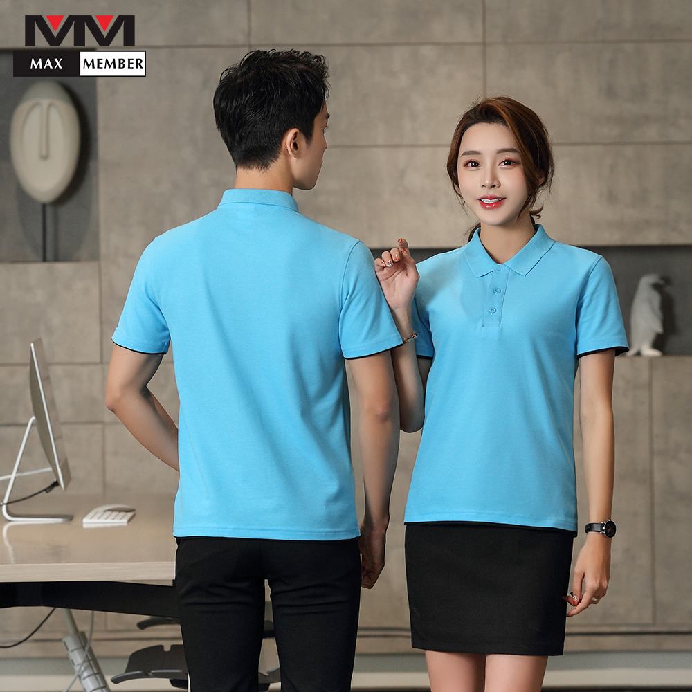 Hotel Waiter Waitress Uniforme Cleaning House Keeping  Uniformes Para Limpeza Wholesale Work Polo Collar Shirt Work Tour Group