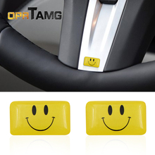 2PCS car styling smile face for motorcycle bicycle kids font b toy b font for VW