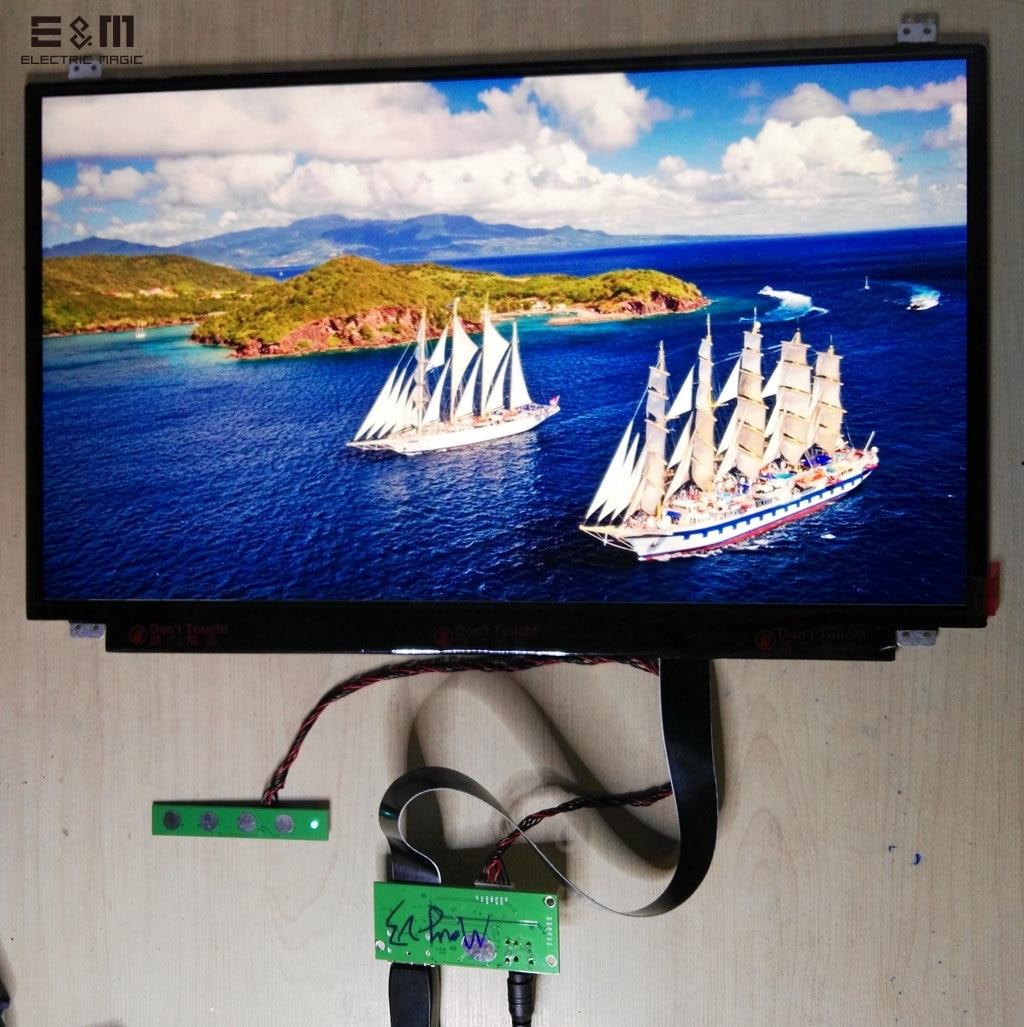 E&M 17.3 Inch 3840*2160 4K 100% NTSC New Original UHD IPS Display DisplayProt DP Driver Board LCD Screen Monitor Laptop PC