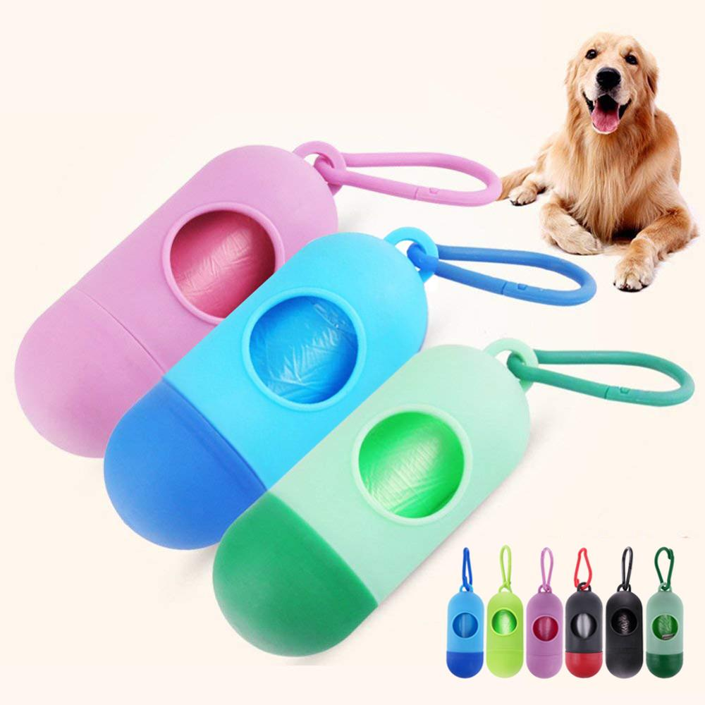 Pooper-Bags Accessories Container Disposable Mini Pet-Dog For Plus-Bag-Box