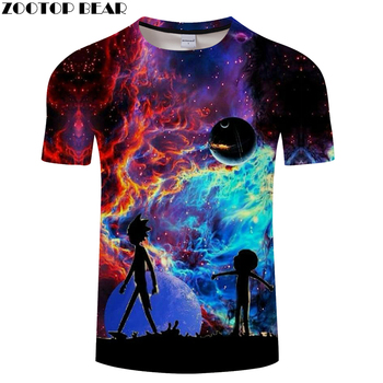 Rick and Morty Galaxy Tee