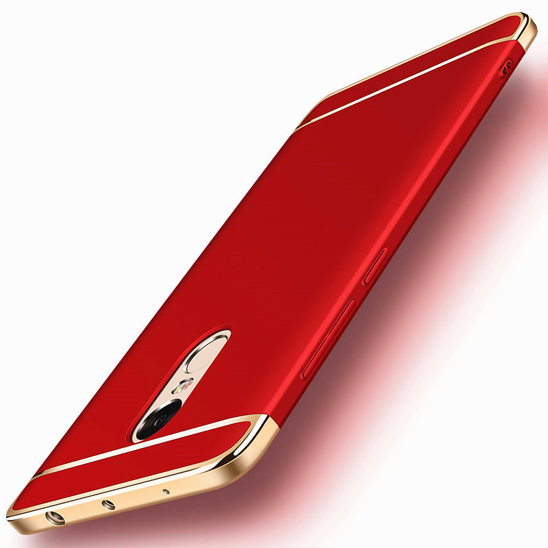 Luxury 3 In 1 Phone Bag Case for Xiaomi Redmi 4x Case Xiaomi Redmi 4x Cover for Redmi Note 4x Cases Cover 5.5 Hybrid Housing