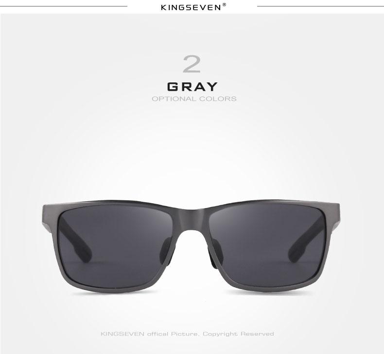 2017 New KINGSEVEN Polarized Sunglasses Men Brand Designer Male Vintage Sun Glasses Eyewear gafas oculos de sol masculino N7180 7