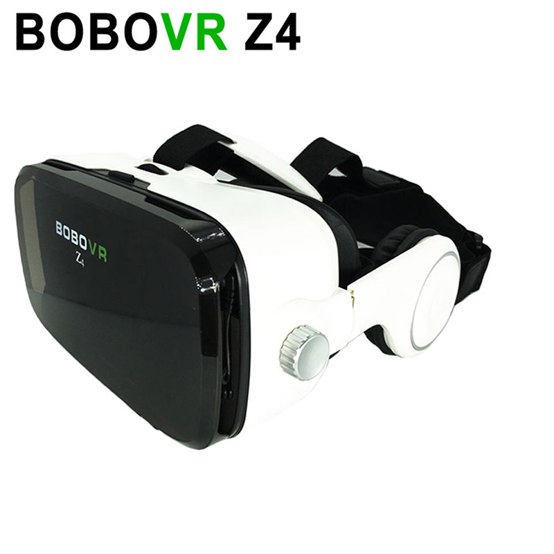 BOBOVR Z4 3D VR Glasses Virtual Reality Headset with Headphones for 4.7-6.2″ Smartphones IOS Android Phones for 3D Movies