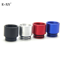 E-XY Aluminum Metal Colors  Drip Tips Electronic Cigarette wide bore Mouthpiece For 810 RTA Tank RBA atomizer 5pcs