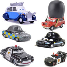 6 Piece Disney Pixar Cars 2 Limited Collection The Queen Of British Royal Defender Highgear Guard Car Model Toy Children Gift(China)