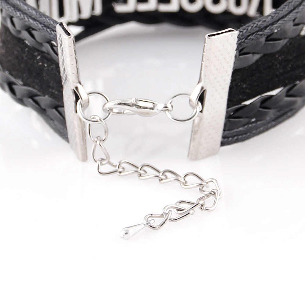 Маленький Minglou Infinity Love RN браслет с надписью «NURSE» RN LPN medical, Очаровательные кожаные браслеты и браслеты для женщин, ювелирные изделия