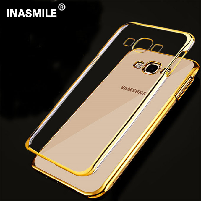 new concept b53a2 403ff US $1.89 |Ultra Thin Transparent Clear Crystal Rubber Electroplating TPU  For Samsung Galaxy J3 Soft Phone Case Back Cover For Samsung J310 on ...