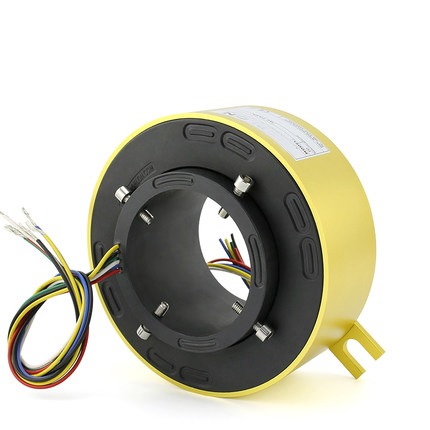 Rotary Conductive Slip Ring Hole 70mm 80mm Out dia158mm 2 4 6 8 10 12 Wire Rotary ConnectorRotary Conductive Slip Ring Hole 70mm 80mm Out dia158mm 2 4 6 8 10 12 Wire Rotary Connector